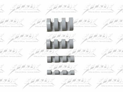 ANILLADO PLAST APRI P/A  6 A4 BCO
