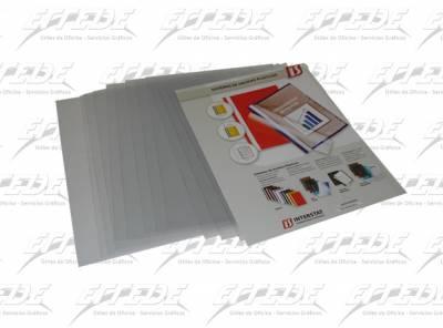 TAPAS INTER PVC A4  CRISTAL BRILL X 50
