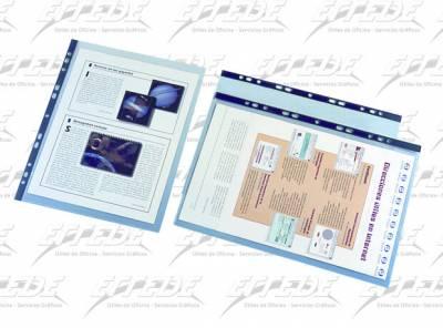 FOLIO CLINGSOR OFICIO PVC 112 R