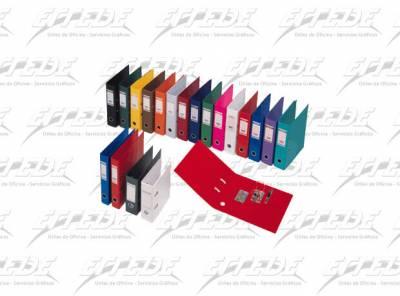 BIBLIORATO PLAST BANTEX A4 NEGRO