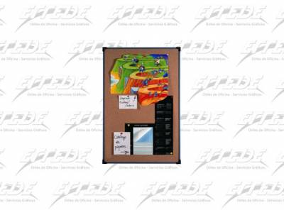 PIZARRA CORCHO M/PVC  45 X  60 TOPBOARD
