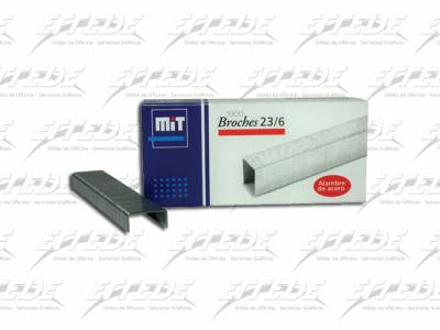 BROCHES  MIT 23/ 6 X 1000 (20 HJ)