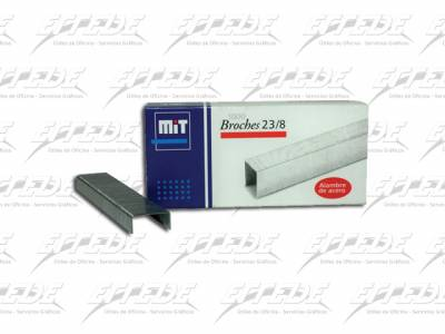 BROCHES  MIT 23/ 8 X 1000 (40 HJ)