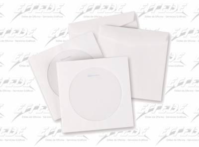 SOBRE CD MEDORO 127 X 127  80 GR S/V*250