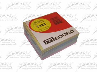 TACO PAPEL MEDORO KUBOCOLOR 9 X 9 400 HJ