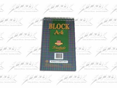 BLOCKS TRIUNFANTE C/ESP A4 LISO 80HJ