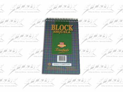 BLOCKS TRIUNFANTE C/ESP A5 LISO 80HJ