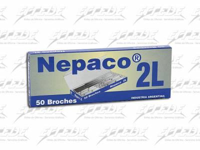 BROCHES NEPACO Nº 2 L X 50