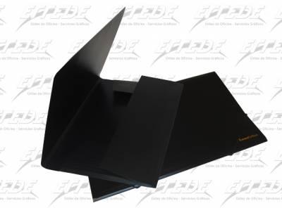 CARPETA PLAST LAMA 3 SOL A4 C/ELASTICO