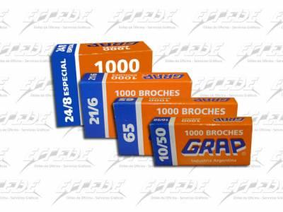 BROCHES  GRAP 21/6 X 1000