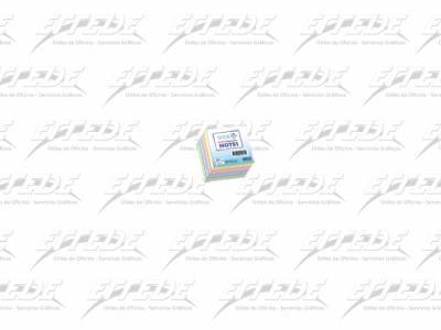 PORTA NOTAS ADH C/CUBO 76X76 400H PASTEL